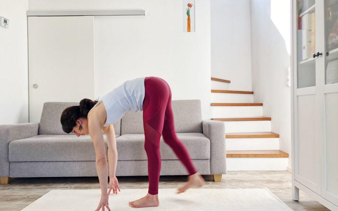 Yoga am Abend Sequenz