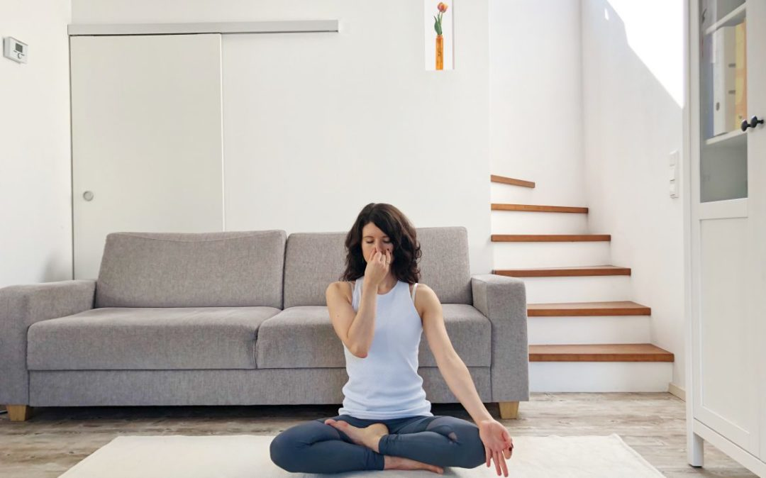 Yoga Atemübung