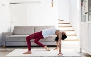 Yoga am Abend - Herzöffner