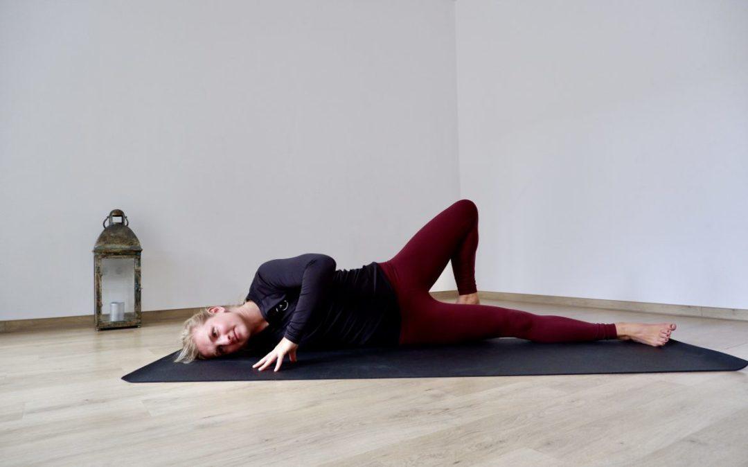 Schultern entspannen mit Yoga