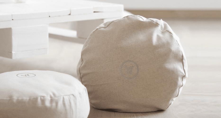 selbt gemachte Meditationskissen