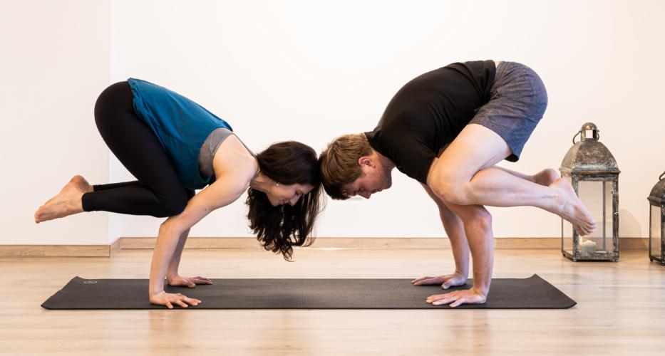 Yoga Business Coaching mit Nick Runia und Tina von Jakubowski