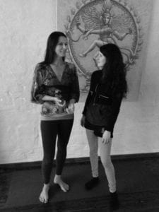 Tina mit Veronika Freitag