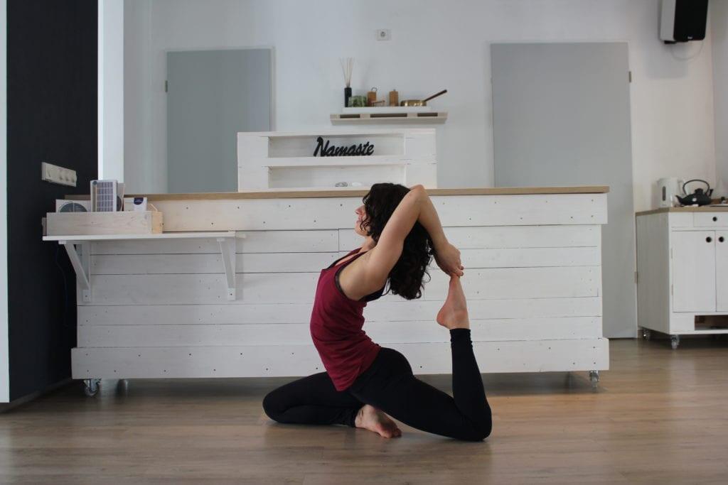 fortgeschrittenes Yoga im Creative Flow mit Tina von Jakubowski