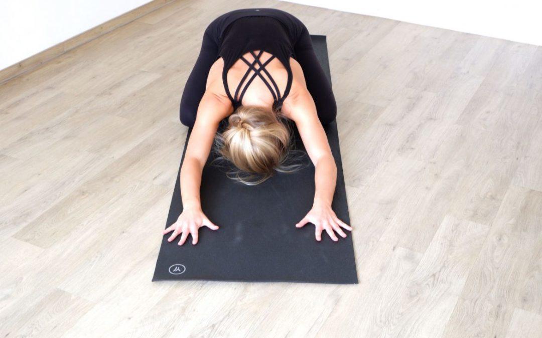 Yin Yoga im Herbst - die Kindeshaltung
