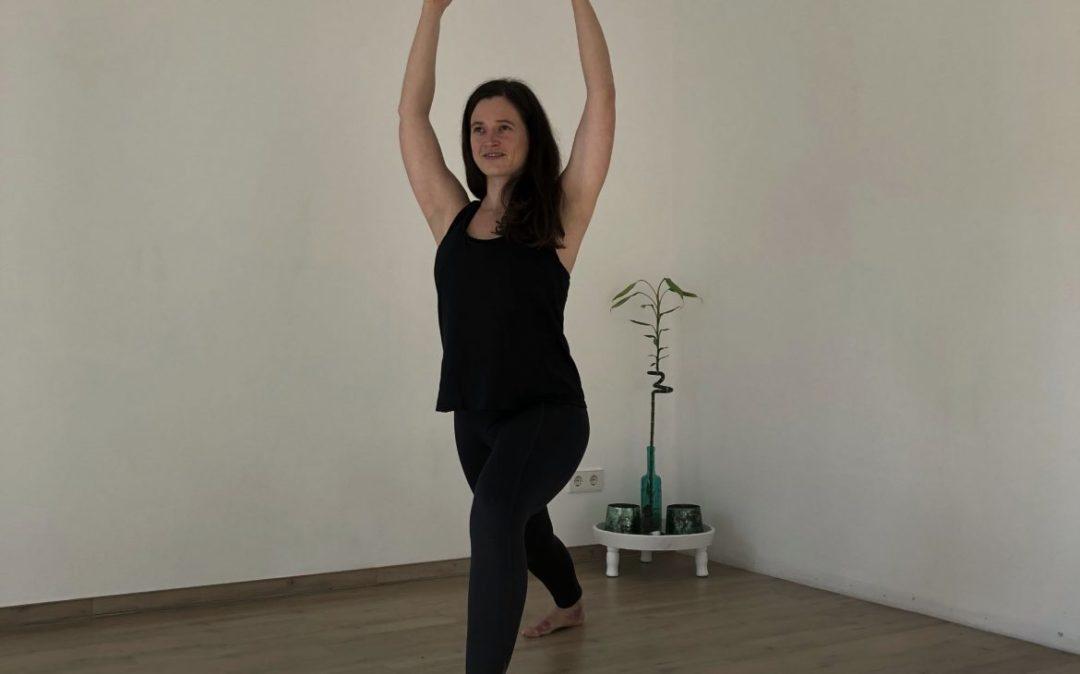 Yoga Krieger 1