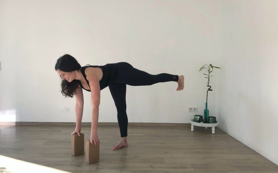 Yoga Krieger 3