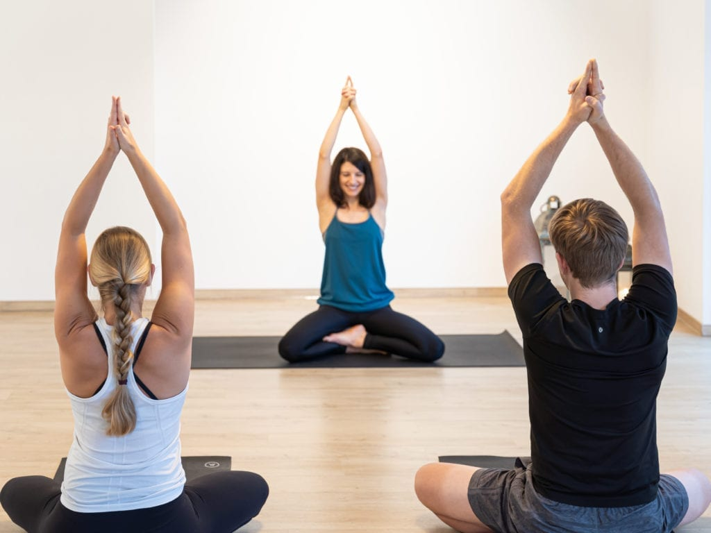 Tina im Yoga Individual Aachen