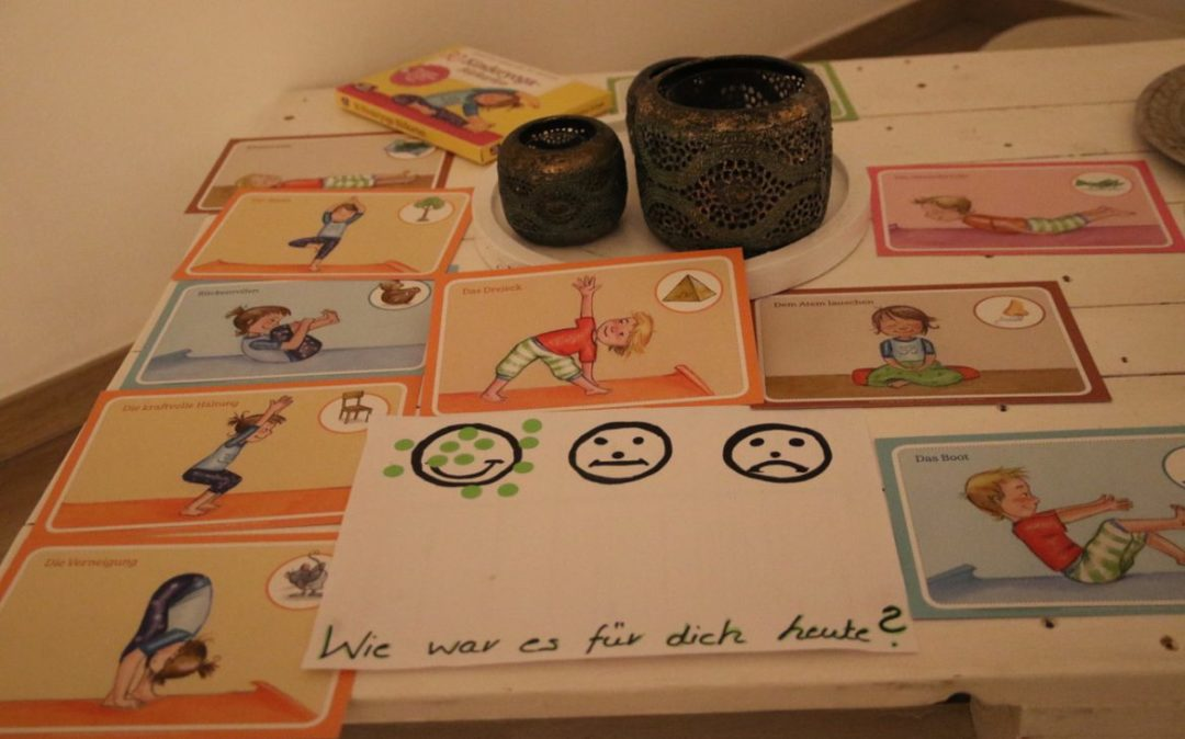 Materialien für die Kinderyogastunde