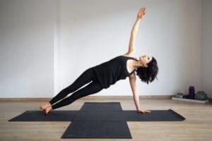 Seitstütz - Yoga für den Bauch
