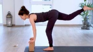 Yoga Video mit Hilfsmitteln