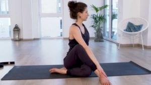 online Yoga Video mit TIna von Jakubowski