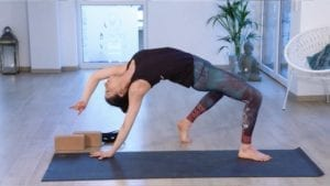 Online Yoga Videos mit Tina: Wild Thing