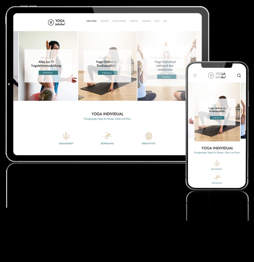 Yoga Individual Apple mockup