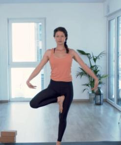 Standhaltungen und Balancen - online Yoga Video