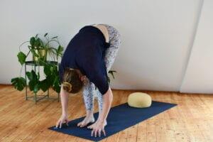 stehenden Vorbeuge - Yoga für Reiter