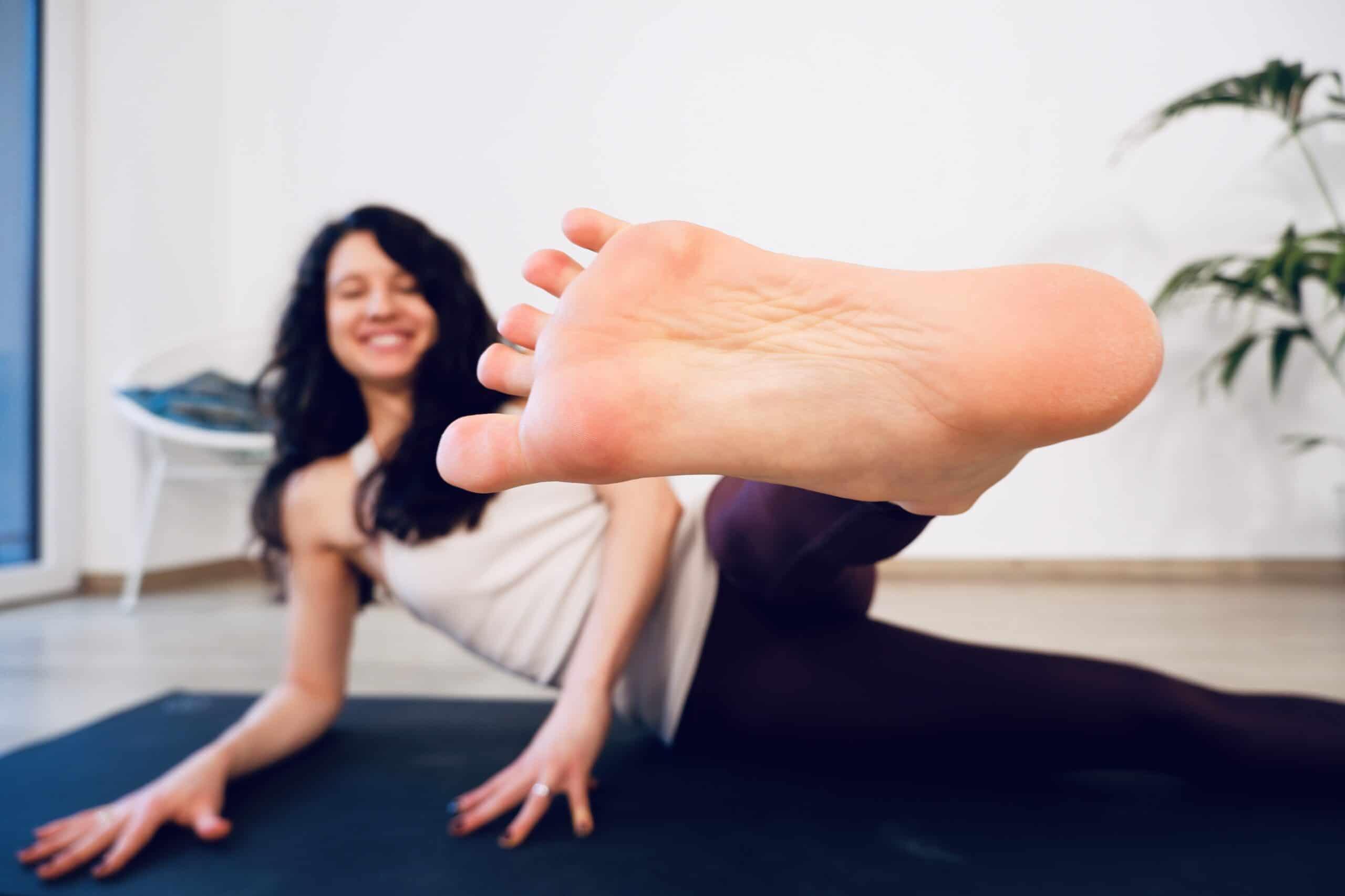 Yoga für das IT Band
