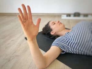 Yoga Selfassists: Hebelfunktion des Arms