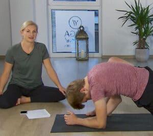 online Yin Yoga für ein inneres Gleichgewicht