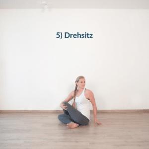 Yoga Drehsitz