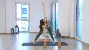 Yogavideo für das zweite Schwangerschaftstrimester