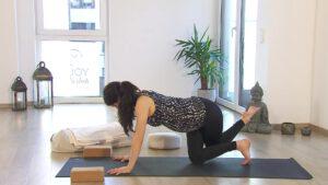 online Prenatal Yoga - Sonnengruß für Schwangere