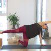 Pränatal Yoga online für seitliche Bauchmuskeln