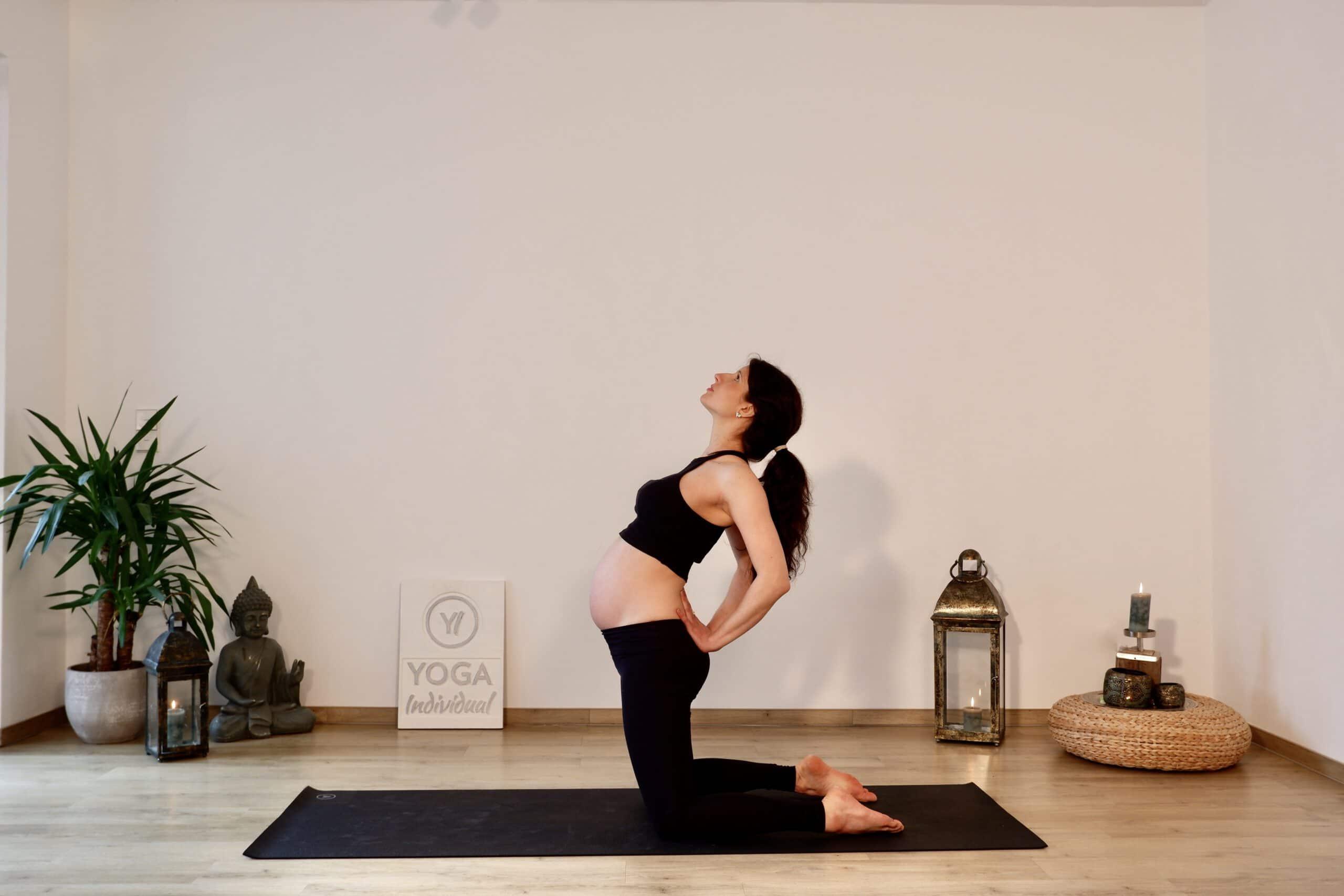 Sonnengruß für Schwangere