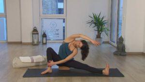 online Yoga im 1. Trimester