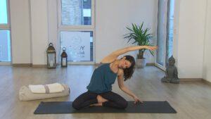 online Yoga erstes Trimester