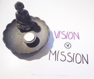 Vision Statement und Missione Statement im Yoga