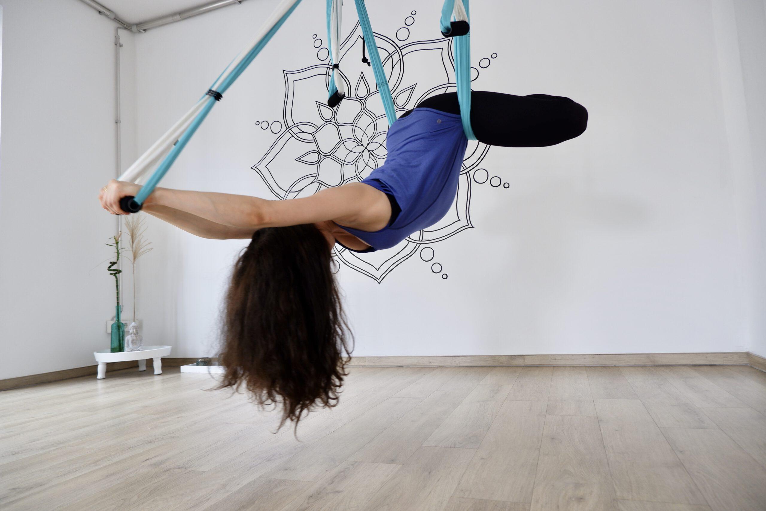 Air Yoga Position