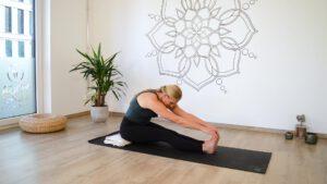 Paschimottanasana Vorbeuge Yoga