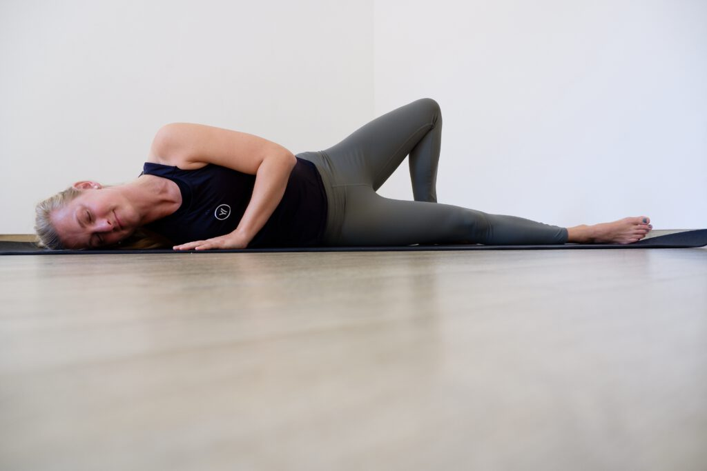 Yin Pose Open Wings